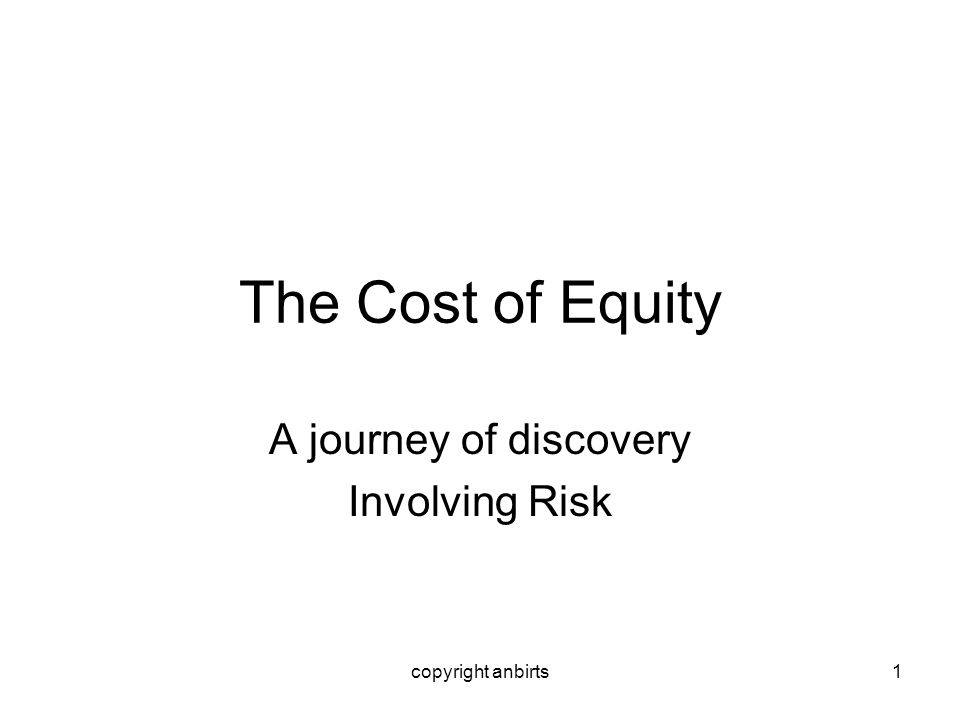 A journey of discovery Involving Risk