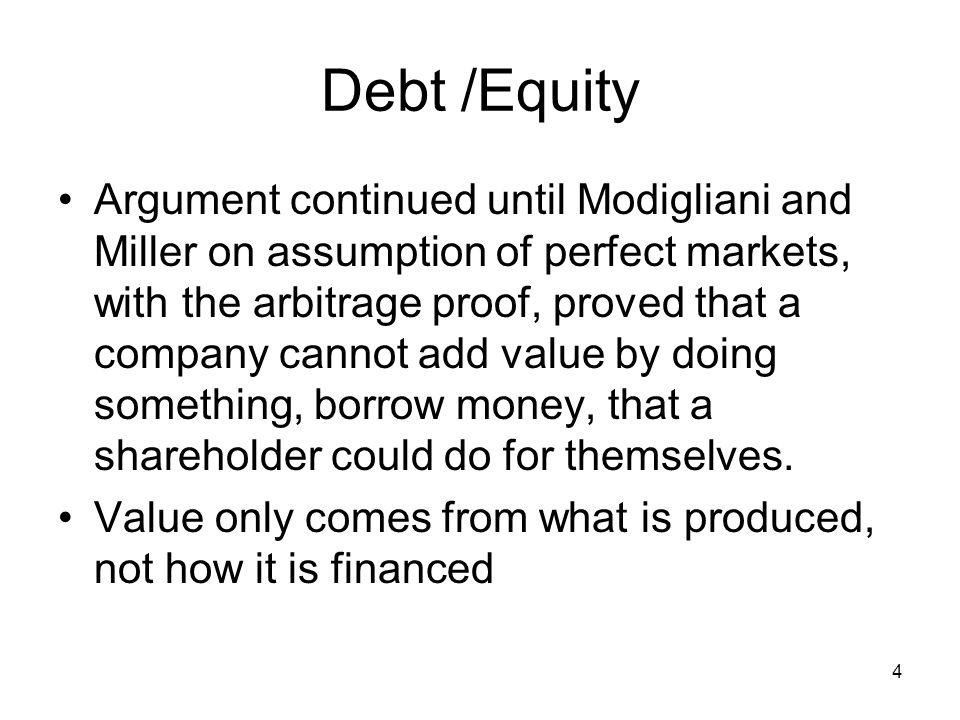 Debt /Equity