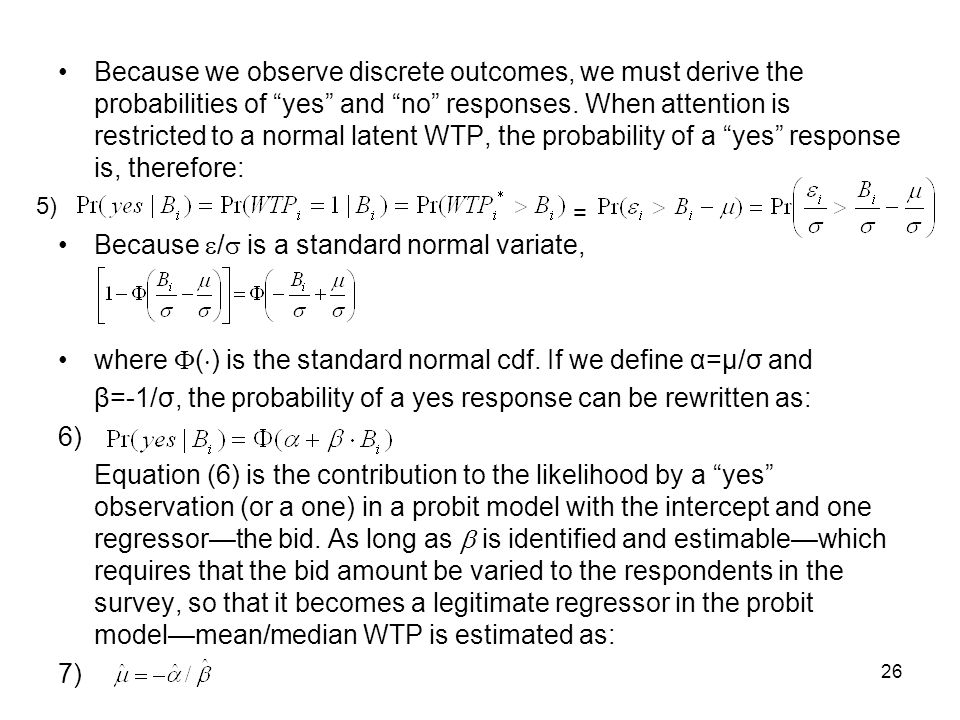 Because / is a standard normal variate,