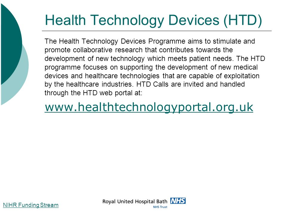 Health Technology Devices (HTD)