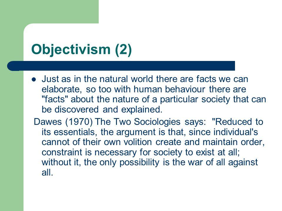 Objectivism (2)