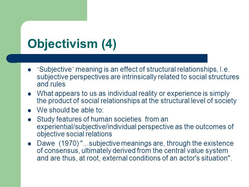 Objectivism (4)