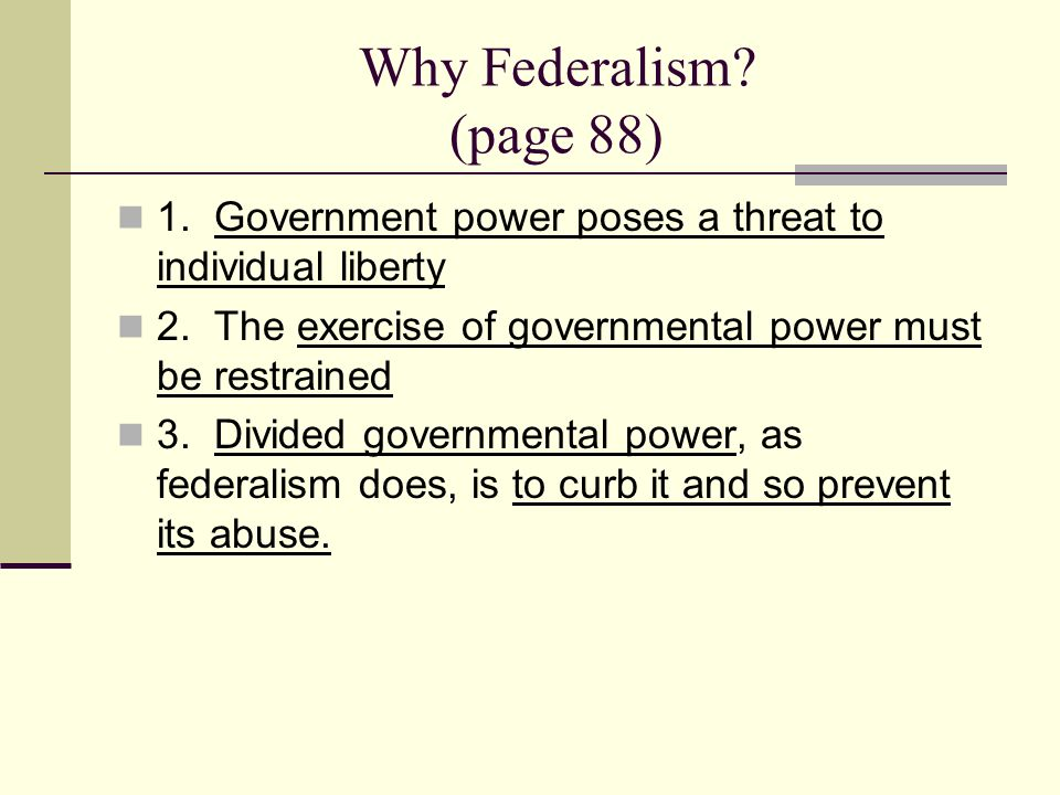 federalism the division of power unit 1 chapter 4 section 1 ppt video online download. Black Bedroom Furniture Sets. Home Design Ideas