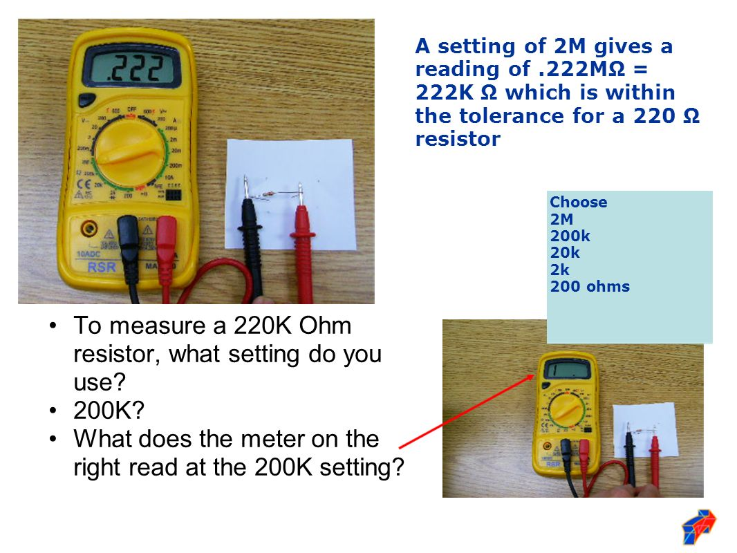 How Do You Read Ohmmeter : Forging new generations of engineers ppt video online