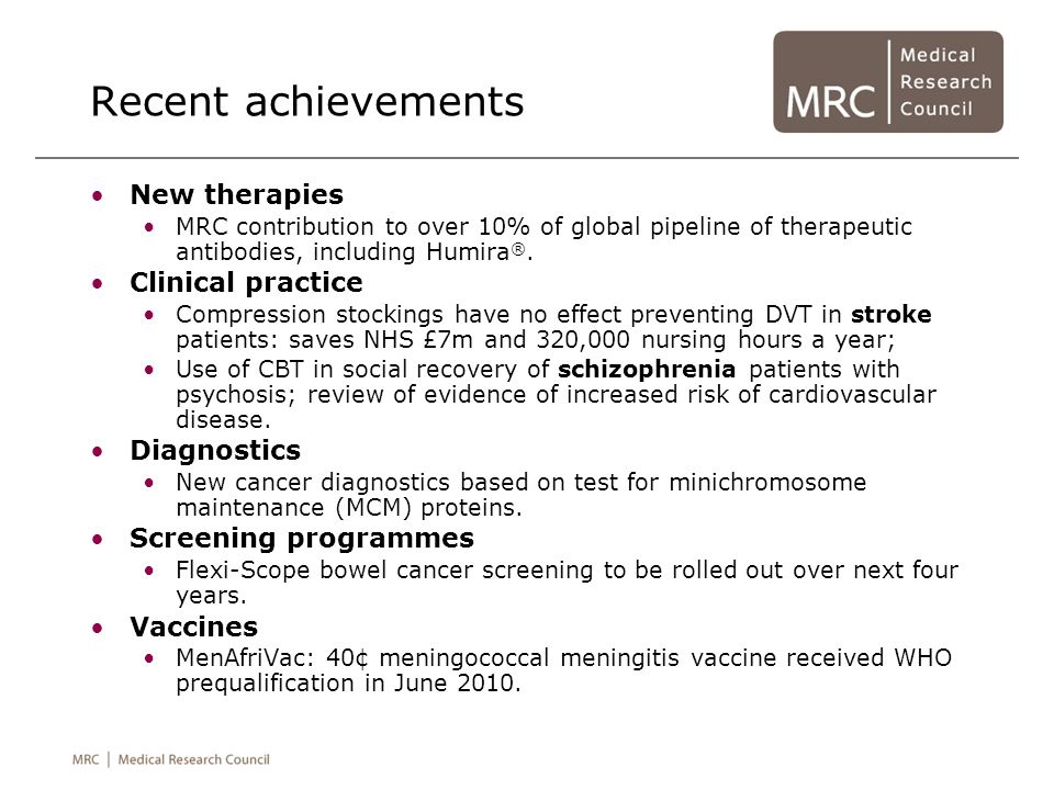 Recent achievements New therapies Clinical practice Diagnostics
