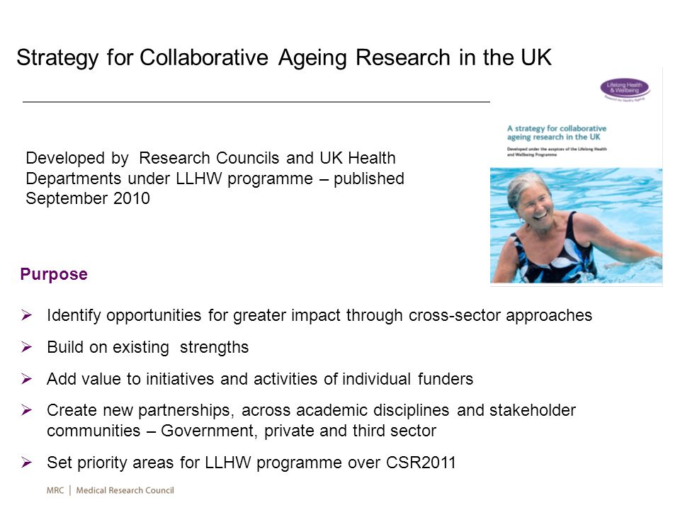 Strategy for Collaborative Ageing Research in the UK