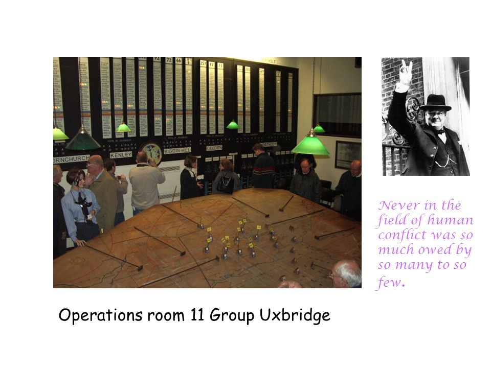 Operations room 11 Group Uxbridge