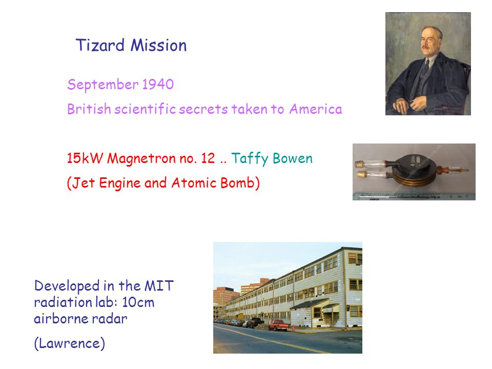 Tizard Mission September 1940