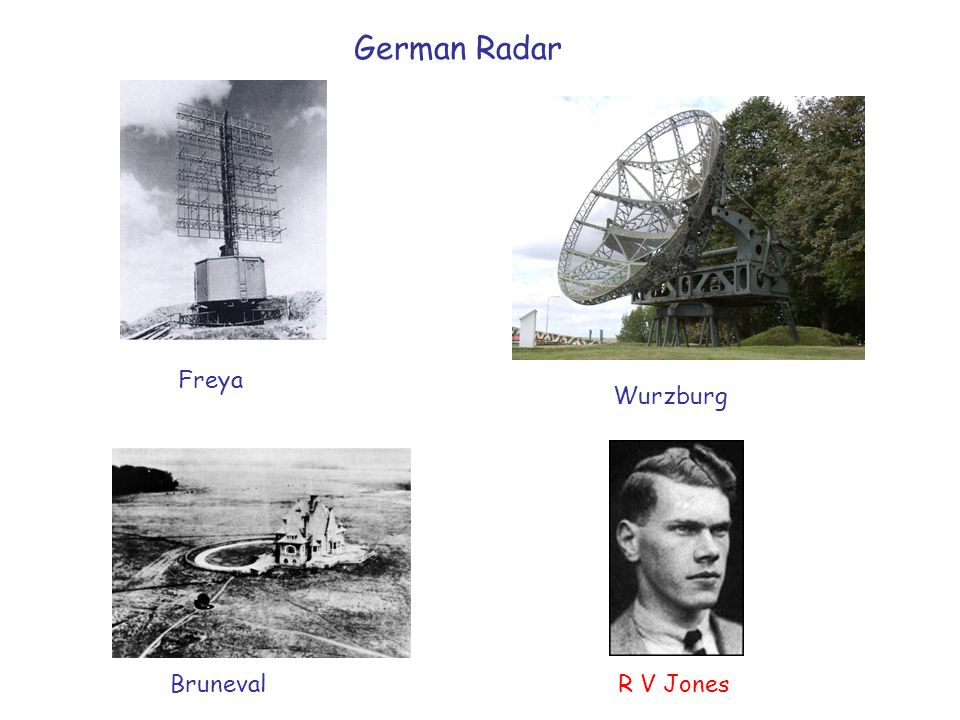 German Radar Freya Wurzburg Bruneval R V Jones