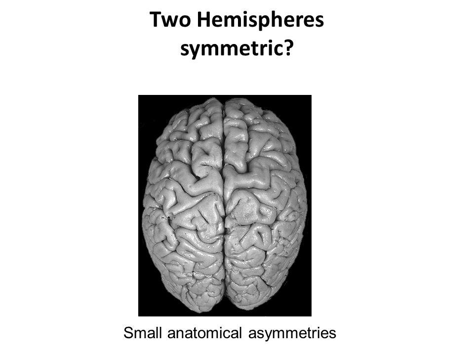 Two Hemispheres symmetric