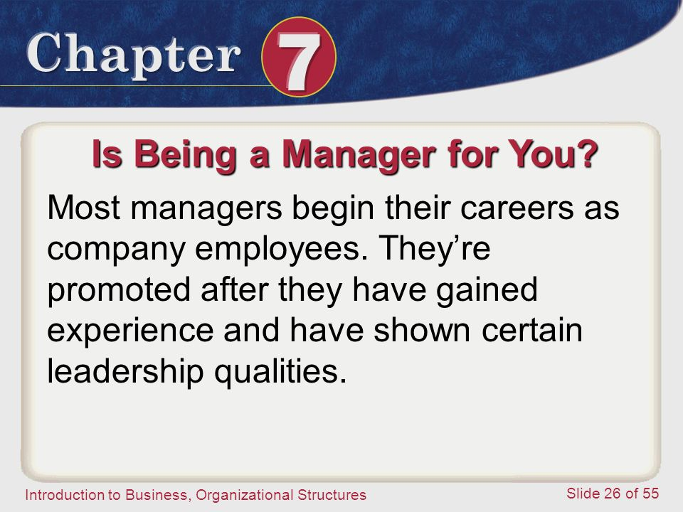 Is Being a Manager for You