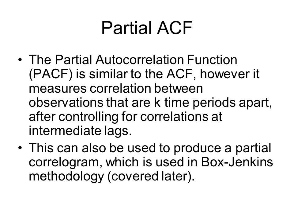 Partial ACF