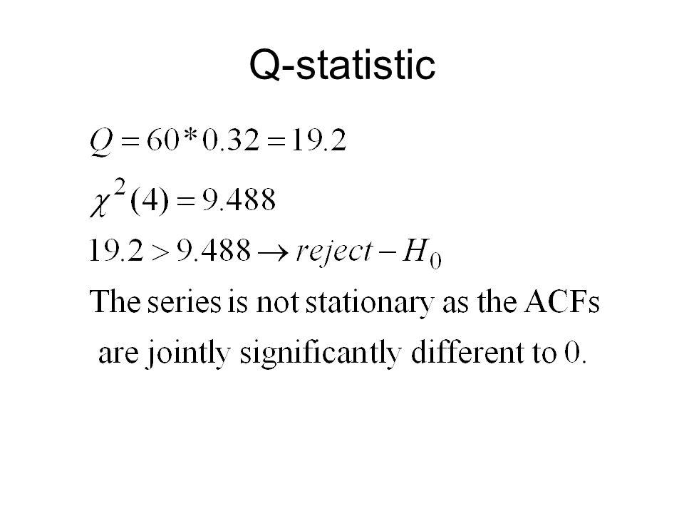 Q-statistic