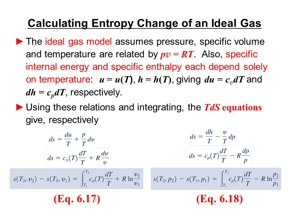 internal energy and temperature relationship