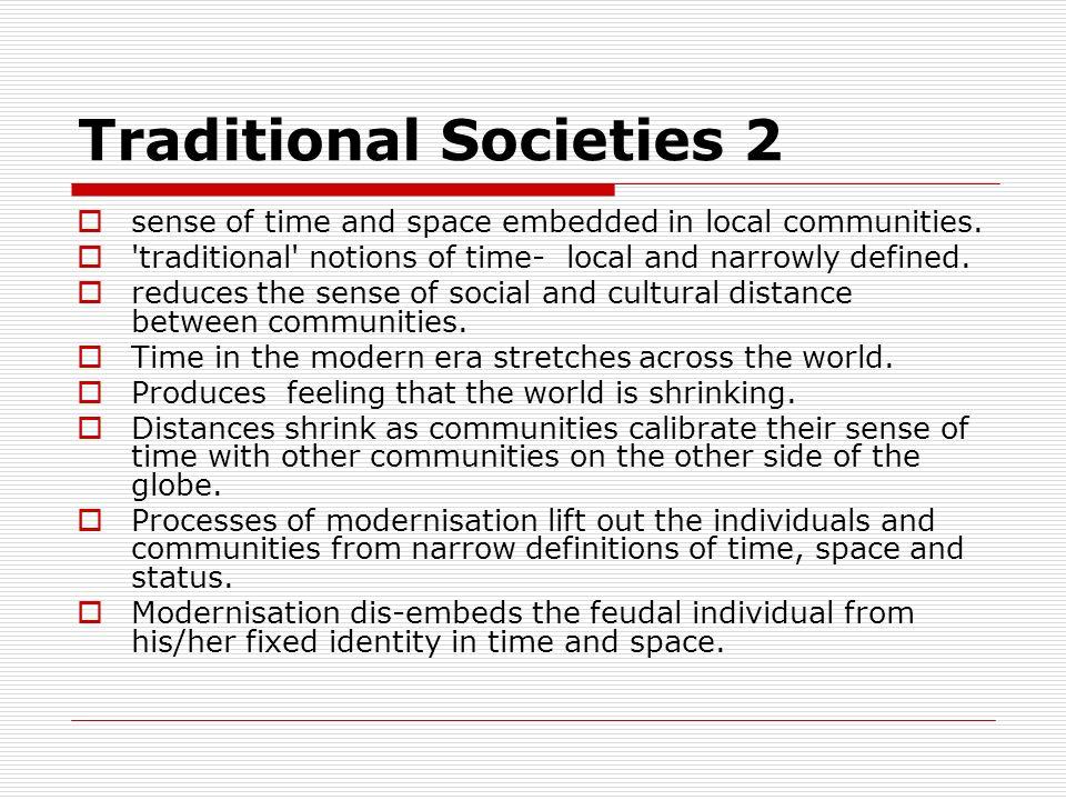 Traditional Societies 2