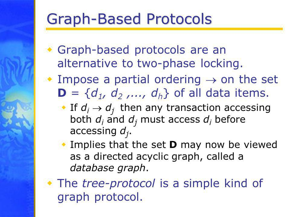 Graph-Based Protocols