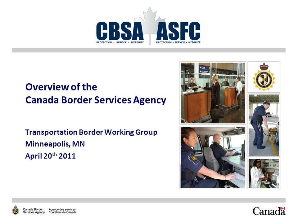 overview of the canada border services agency