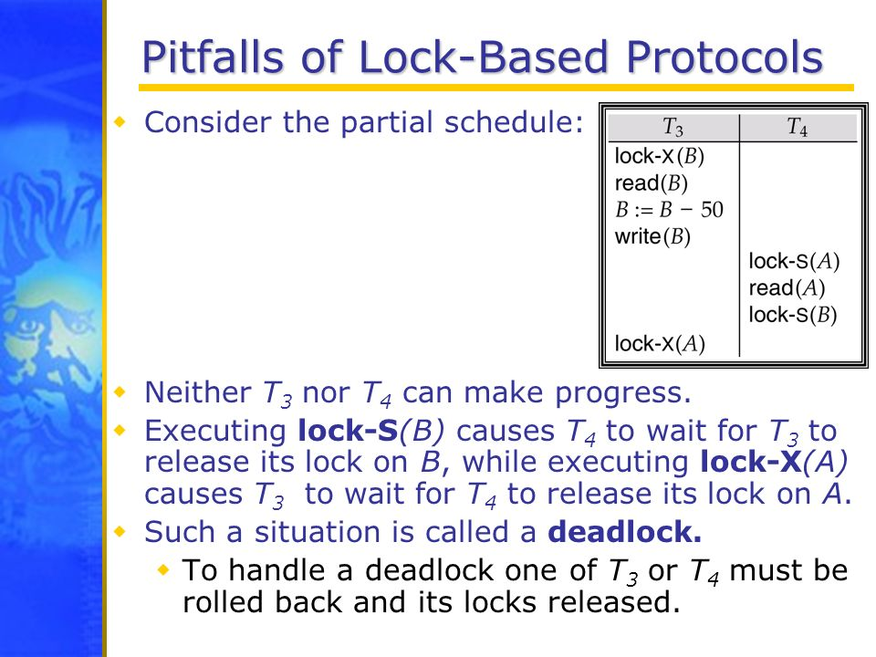 Pitfalls of Lock-Based Protocols