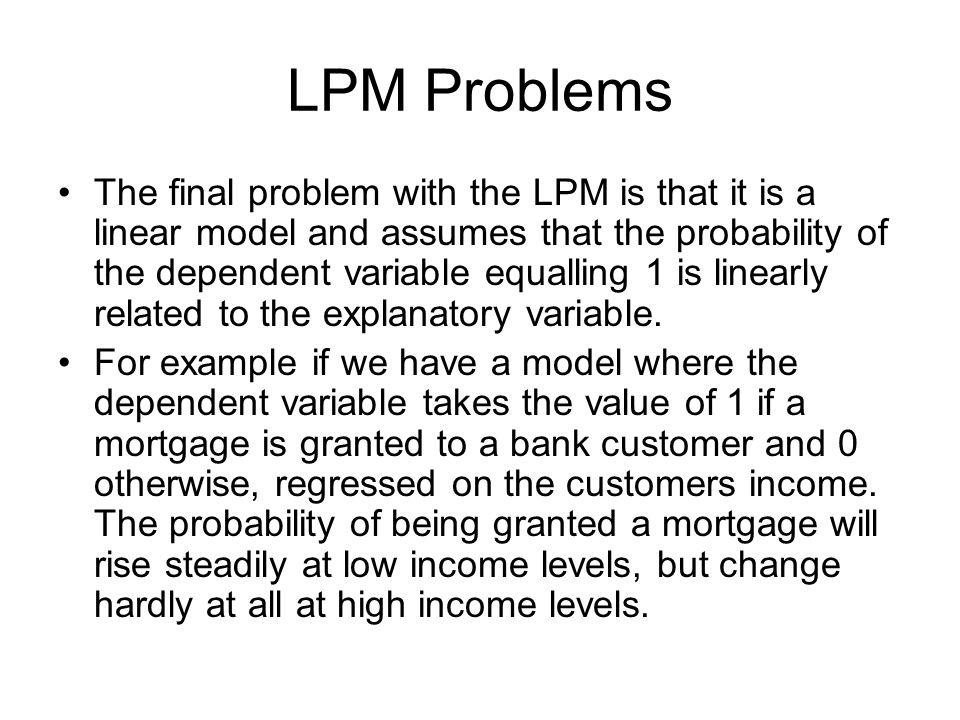 LPM Problems