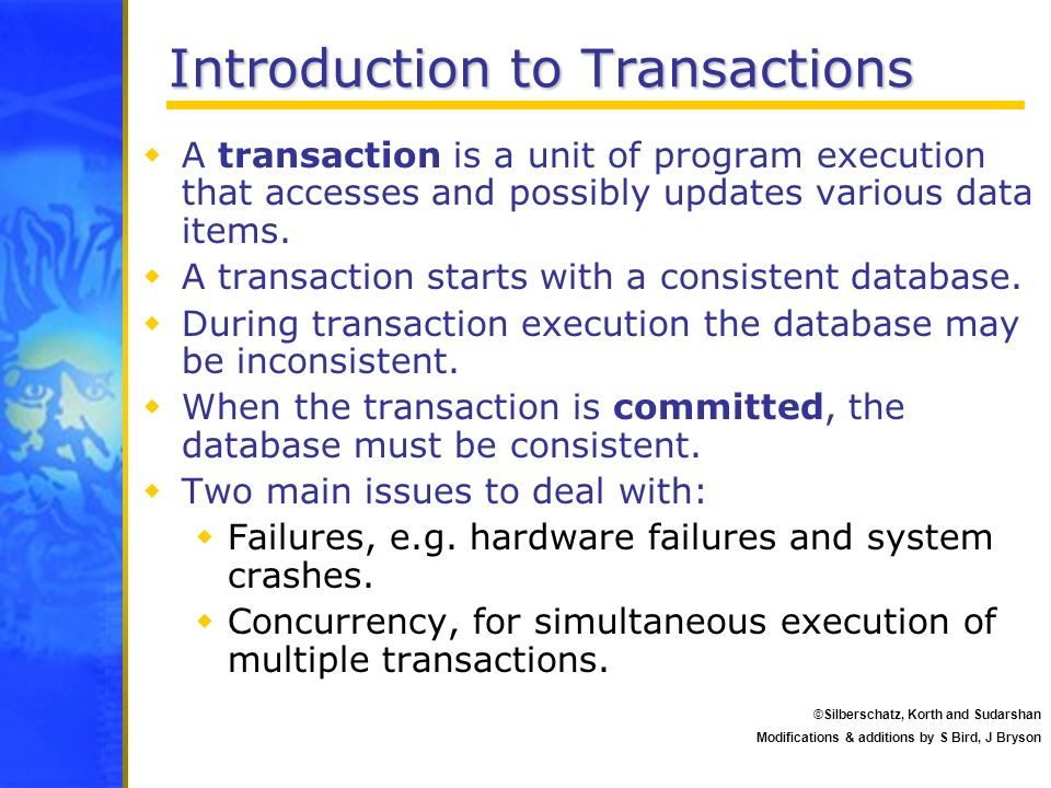 Introduction to Transactions