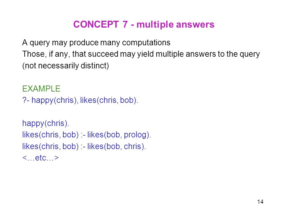 CONCEPT 7 - multiple answers