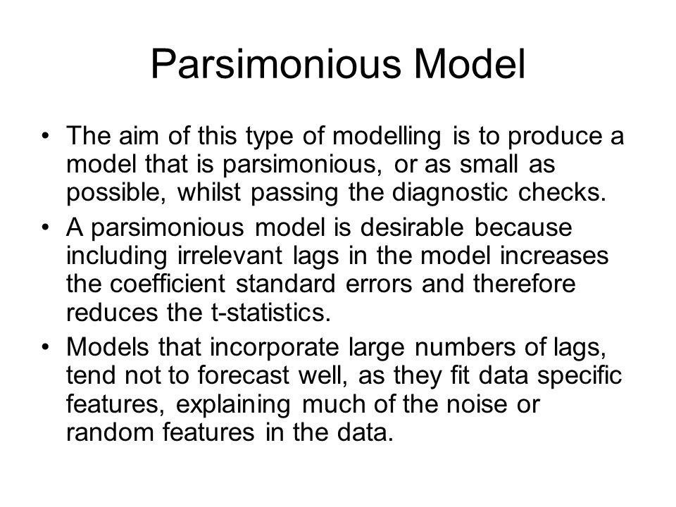Parsimonious Model