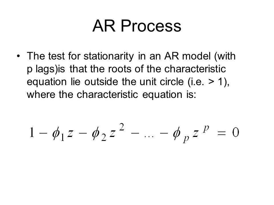 AR Process