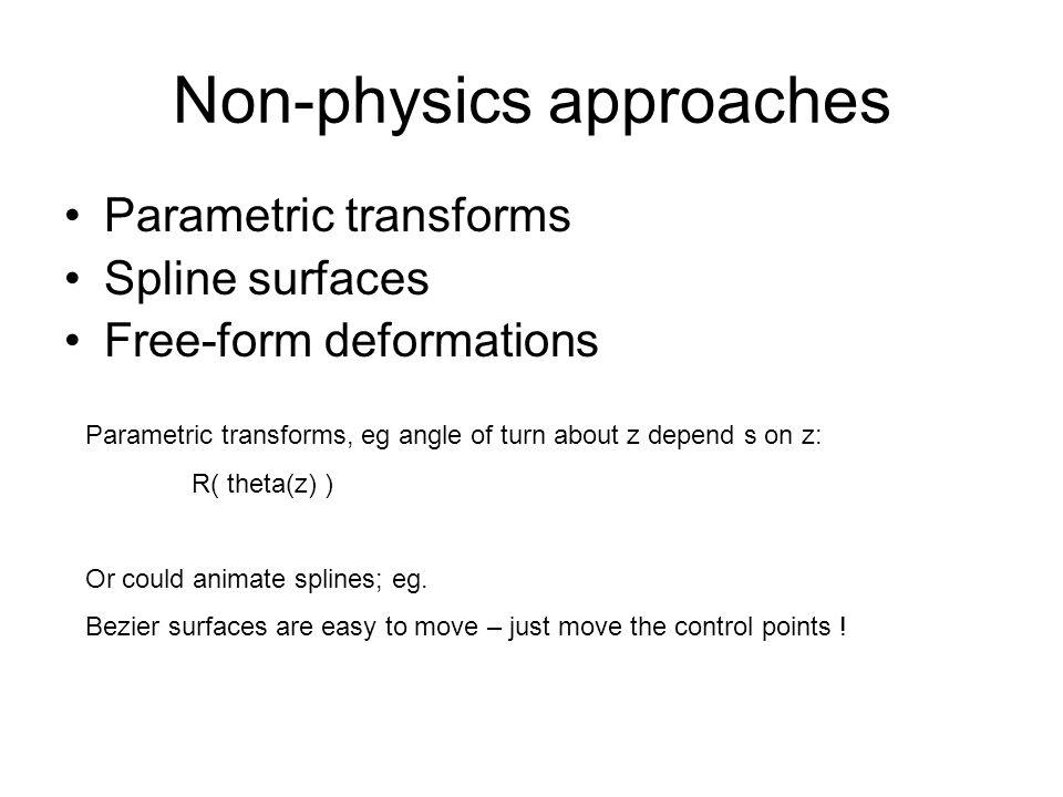 Non-physics approaches