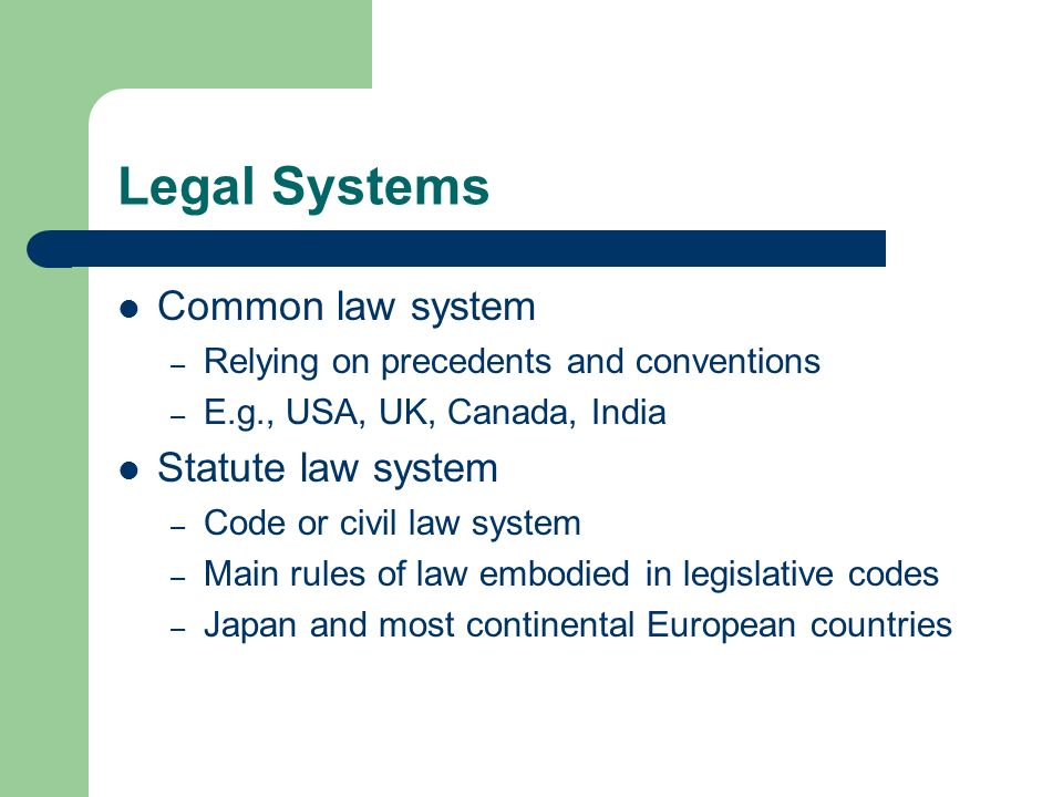 Combination of civil and common law in the japanese legal system