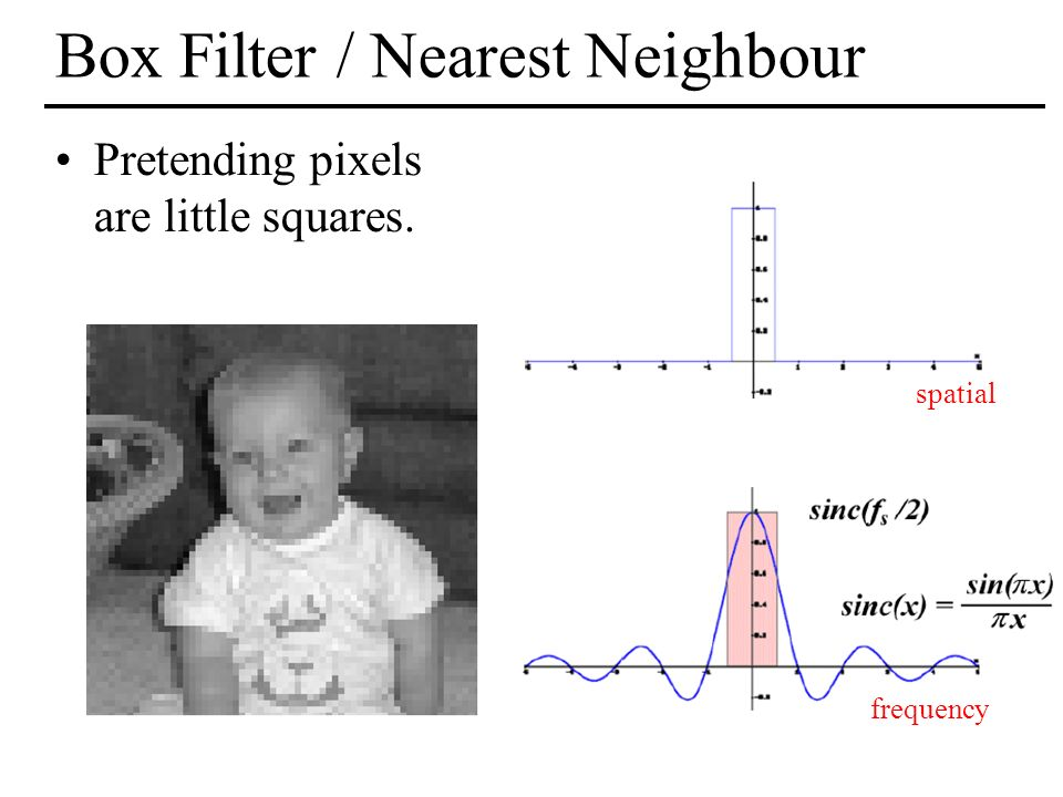 Box Filter / Nearest Neighbour