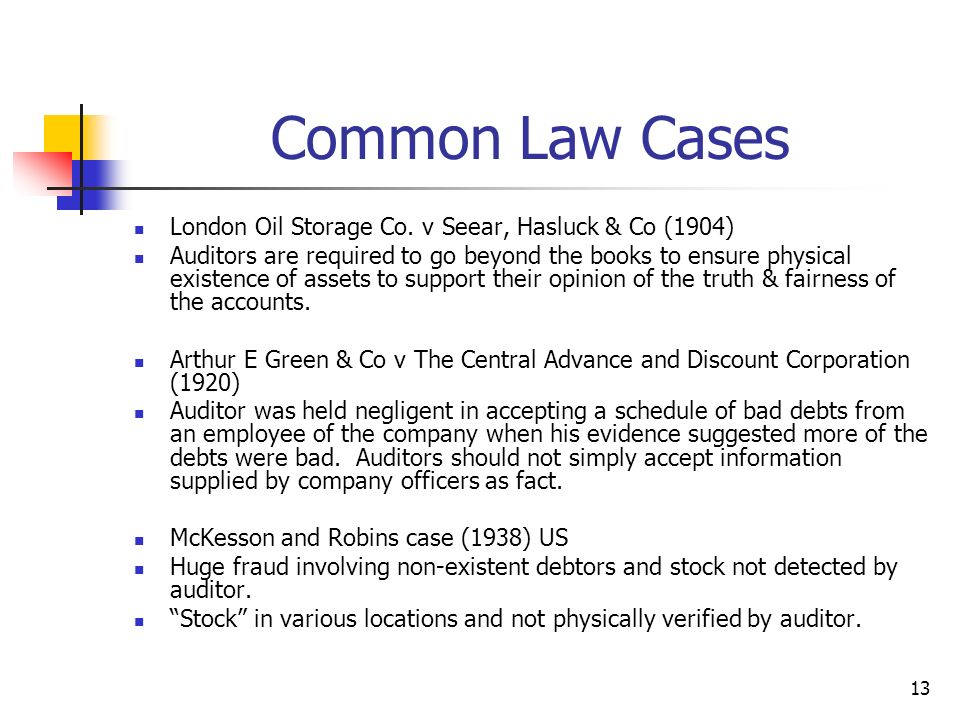 Common Law Cases London Oil Storage Co. v Seear, Hasluck & Co (1904)