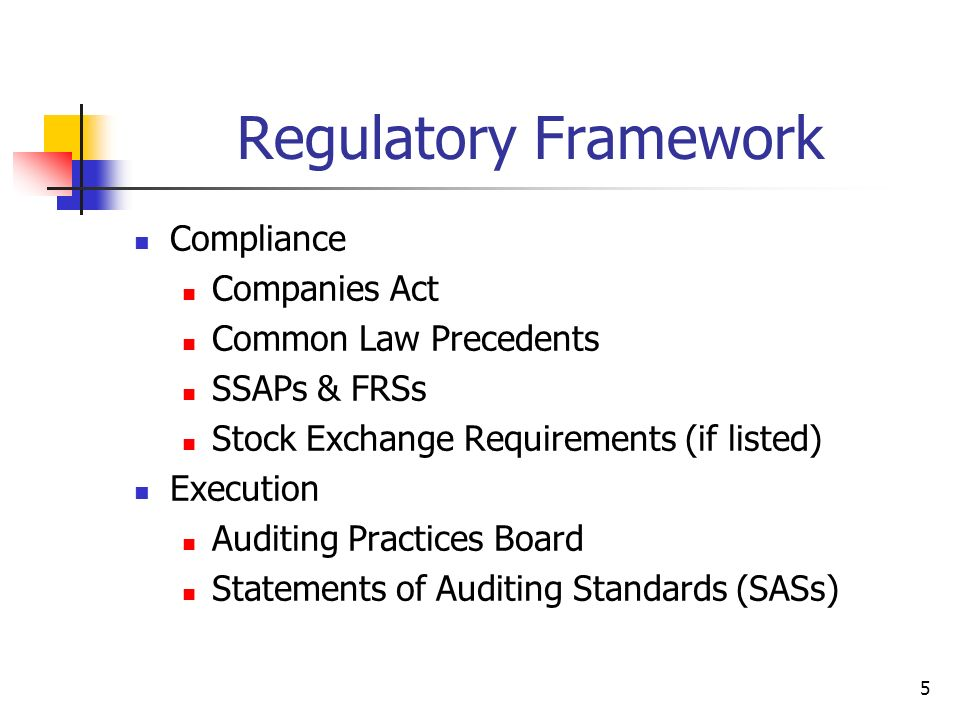 Regulatory Framework Compliance Companies Act Common Law Precedents
