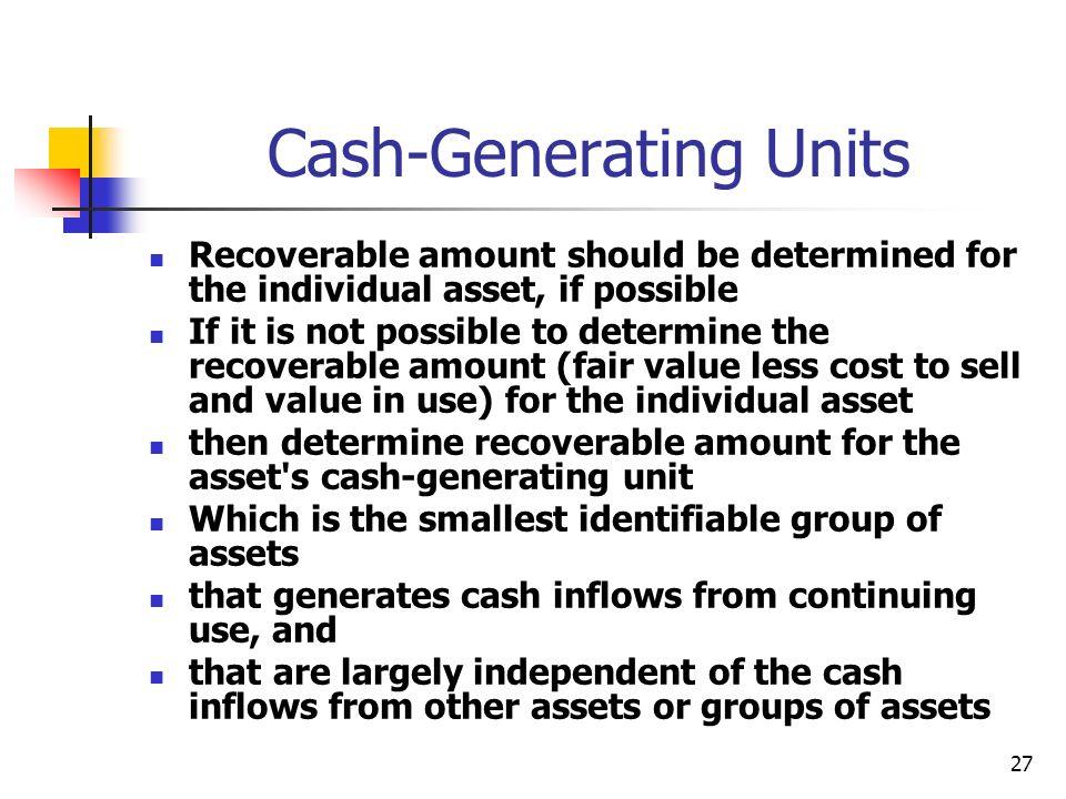 Cash-Generating Units