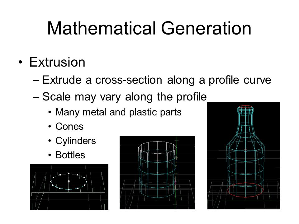 Mathematical Generation