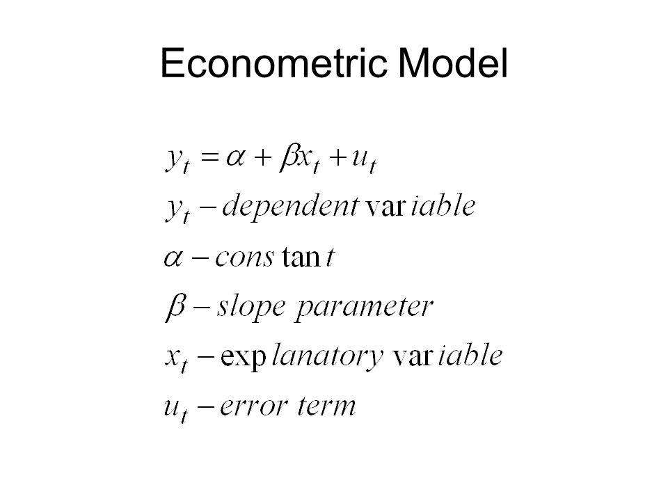 Econometric Model