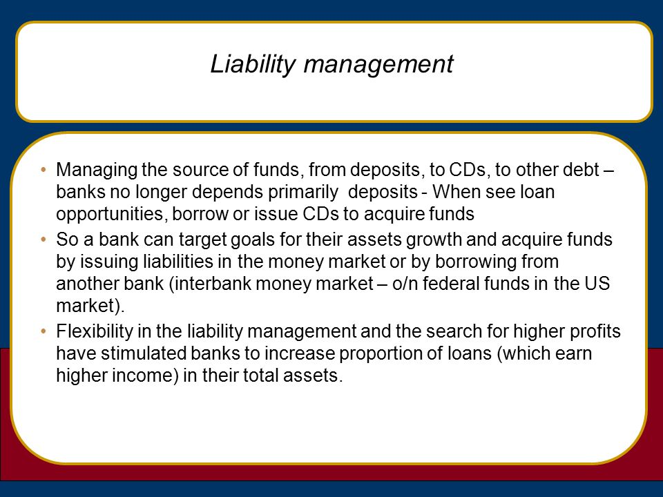 sources of funds for commercial banks pdf