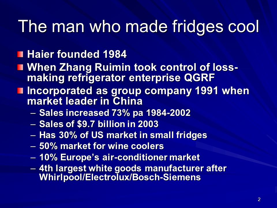 The man who made fridges cool