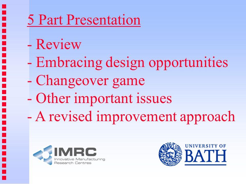 5 Part Presentation - Review