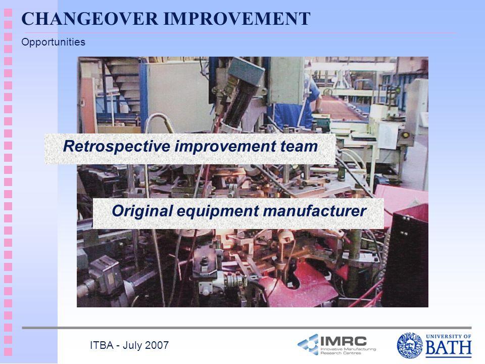 Retrospective improvement team Original equipment manufacturer