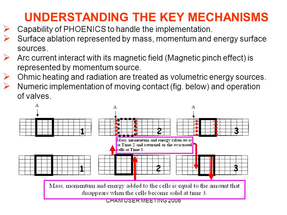 UNDERSTANDING THE KEY MECHANISMS