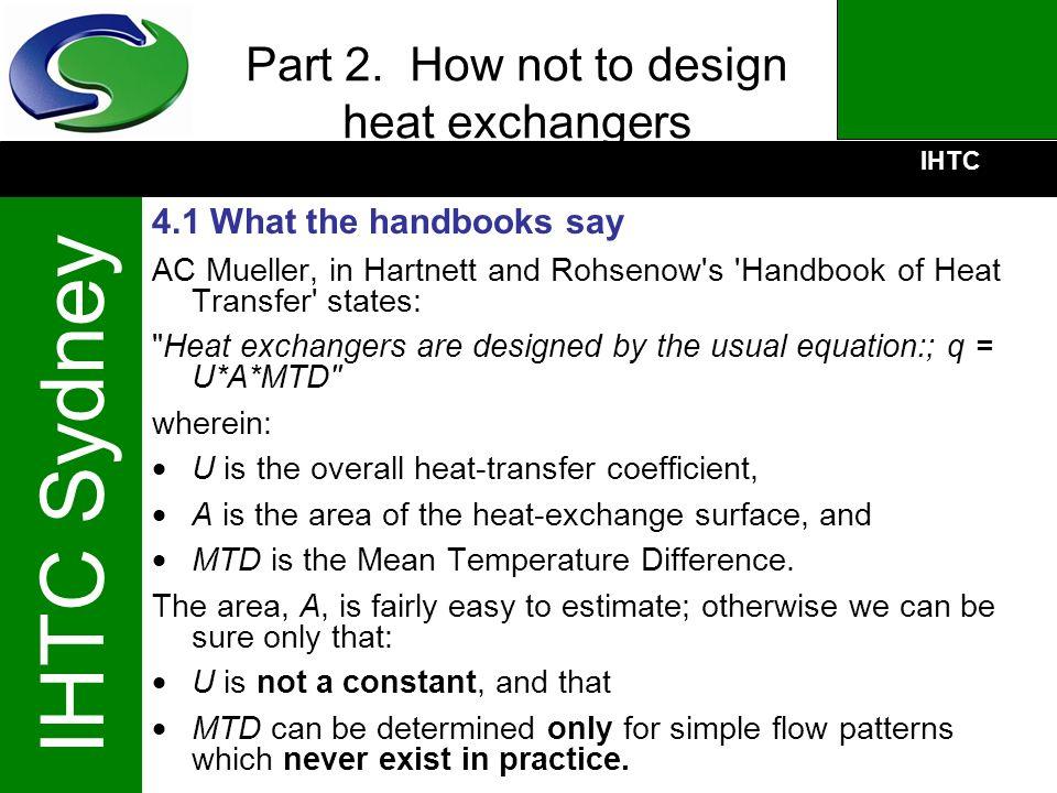 Part 2. How not to design heat exchangers