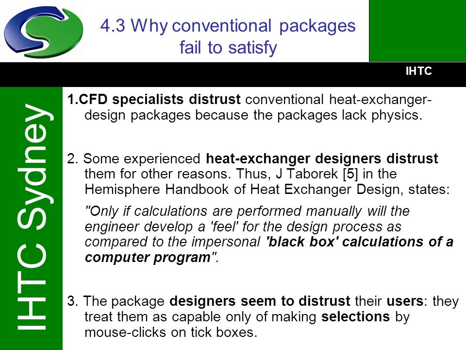 4.3 Why conventional packages fail to satisfy