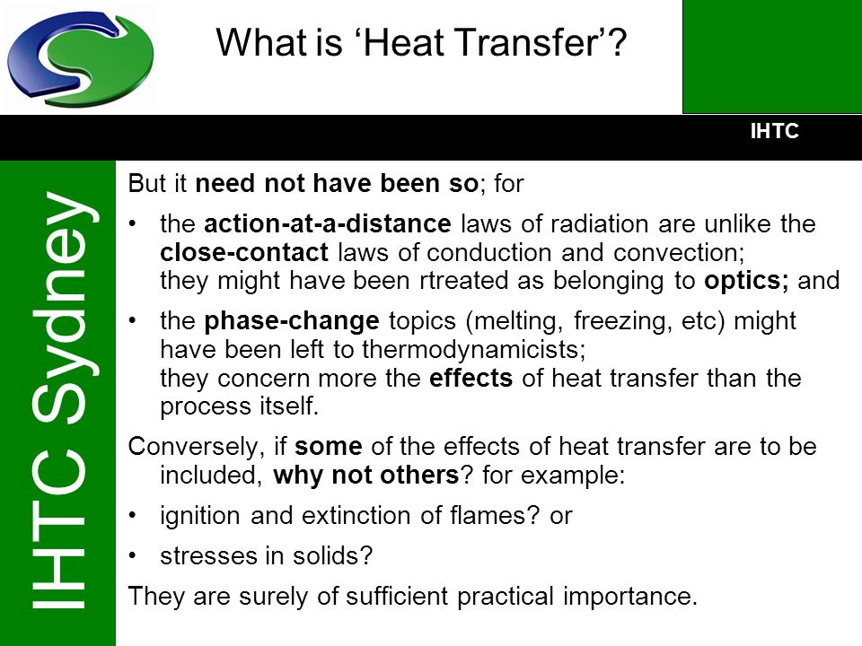 What is 'Heat Transfer'