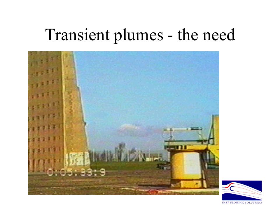 Transient plumes - the need
