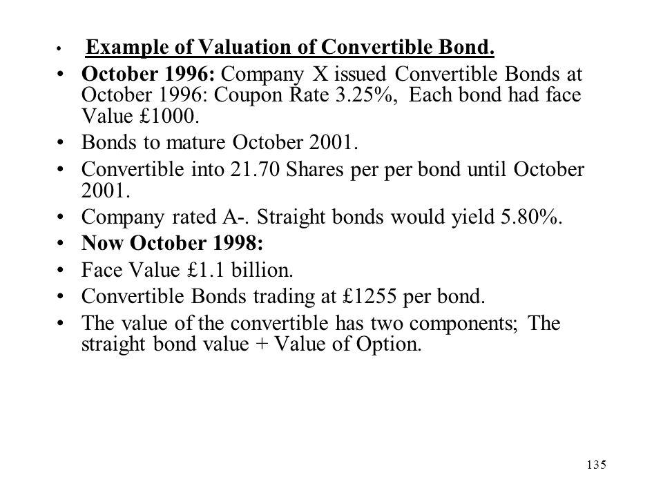 Bonds to mature October 2001.