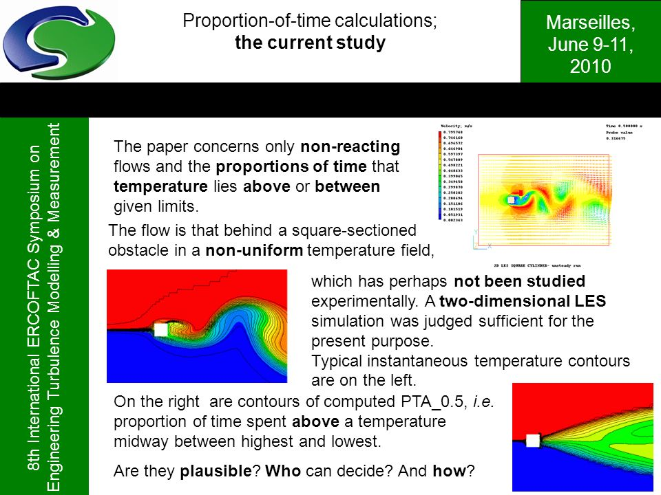 Proportion-of-time calculations;