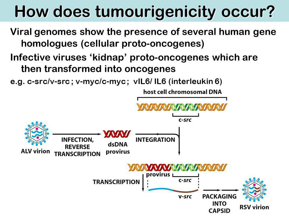 How does tumourigenicity occur