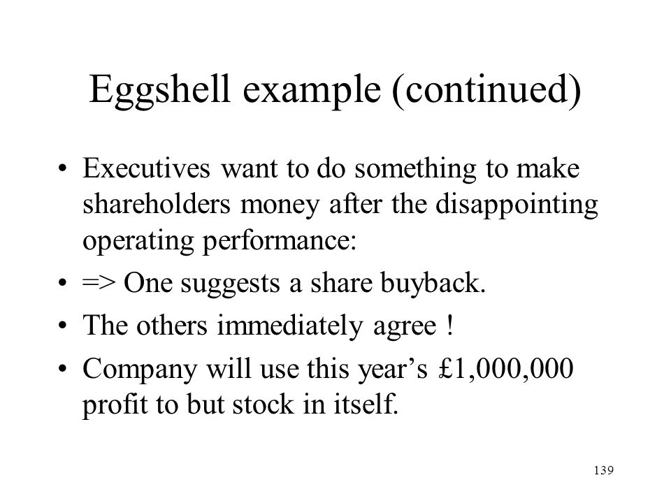 Eggshell example (continued)
