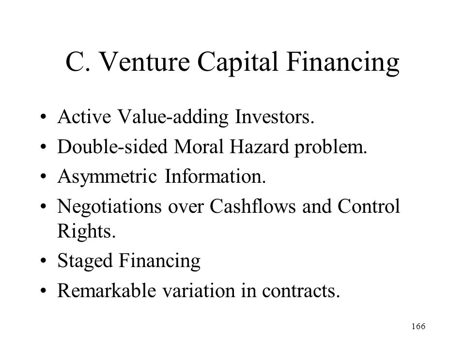 C. Venture Capital Financing