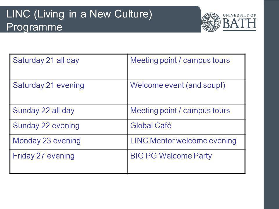 LINC (Living in a New Culture) Programme